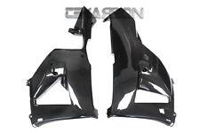 2013 - 2016 Honda CBR600RR Carbon Fiber Lower Side Fairings - 2x2 twill weave