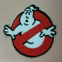 Ghostbusters Original Logo Embroidered Iron On Patch Movie