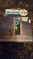 Monsters, Inc. (DVD, 2002, 2-Disc Collector's Edition) Disney PIXAR