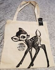 Disney Limited Edition Bambi Canvas Tote Bag