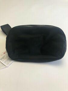 Lululemon Everywhere Black Belt Bag Waist Fanny Pack Purse (0155)
