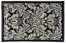 "Mackenzie Childs CHELSEA GARDEN w// Courtly Check BATH RUG 24/""x36/"" NEW $80 m20-de"