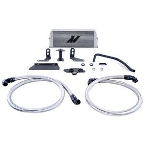 Mishimoto MMOC-F2D-11KSL Oil Cooler fits Ford 6.7L Powerstroke 2011-2019, Silver
