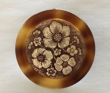 Very Early Brooch Sérigraph 1960/70s « Flowers Design » From Lea Stein