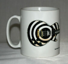 Guitar Mug. Zakk Wylde's Gibson Les Paul Custom (bullseye) illustration.