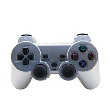 PS2 Dual Shock 2 Controller For Playstation 2 M03896 SIlver Brand New