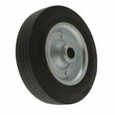 Maypole Caravan & Trailer Spare Jockey Steel Wheel with Solid Rubber Tyre -200mm
