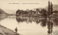 25 - cpa - Paysage du Doubs à Velotte