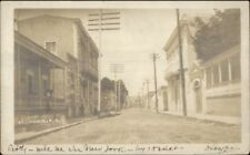 Ponce Puerto Rico Strfeet Scene c1910 USED Real Photo Postcard jrf