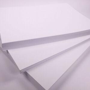 A4 Bright White Craft Card 160gsm Art Card 150 Sheets Crafting Card Printer Card
