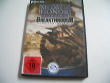 Medal Of Honor  Allied Assault - Breakthrough   ADD ON   (PC)     USK 18