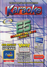 Karaoke Chartbuster Essential 450 Songs SD-Card Vol-5 Country,Standars,R&B,Rock