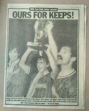 1984 Liverpool Echo Milk Cup Final & Reply Special Editions LFC Football Club