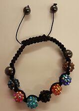 Glitter Ball Shamballa Bracelet (4 Options)