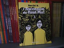 L'ascension du Haut Mal Tome 3 - David B. - Editions L'ASSOCIATION - BD