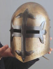 SCA Medieval Crusader Sugar-loaf Helmet Knights Templar Great Helmet Armour Gift
