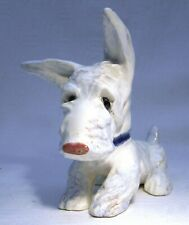 More details for art deco goldscheider meisinger dog scottish terrier scottie white