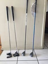 Womens' Golf Hybrids x2 and Putters x2
