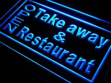 j990-b OPEN Take Away Restaurant Neon Light sign