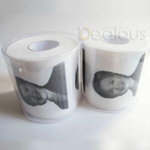 2 ROLLS Lock Her Up Hillary Clinton Toilet Tissue Paper Novelty Joke Humor FUNNY