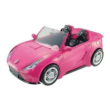 Barbie Estate Vehicle Signature Pink Convertible with Seat Belts DVX59 NEW GITF
