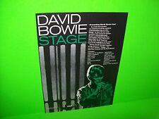David Bowie Stage 1977 Vintage Original Music Magazine Cool Frameable Artwork
