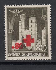 Generalgouvernement  Briefmarken 1940 Rotes Kreuz Mi.Nr.55 ** postfrisch
