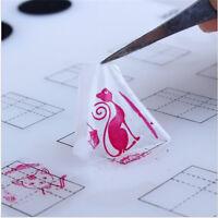 Nail Art Silicone Mat Pad Polish Stamping Transfer DIY Palette Showy Mats Pip