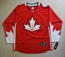 Team Canada World Cup of Hockey 2016 Red Premier Jersey Men's Size(L)