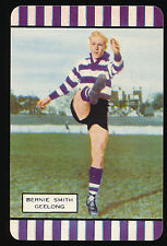 1954 Coles Geelong Bernie Smith card Series one plain back Excellent Brownlow