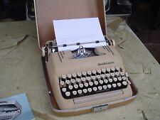 Smith Corona Silent Super Portable Manual Typewriter in Hard Case