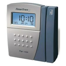 Pyramid Timetrax Ez Ttez Swipe Card Time Clock System Serial With 17 Cards 9 25