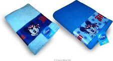 Serviettes, draps et gants de salle de bain bleu Disney