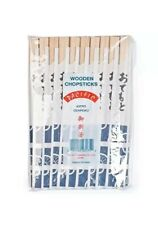 40 PAIRS CHINESE JAPANESE TWIN CHOPSTICKS WOODEN INDIVIDUALLY WRAPPED GENROKU