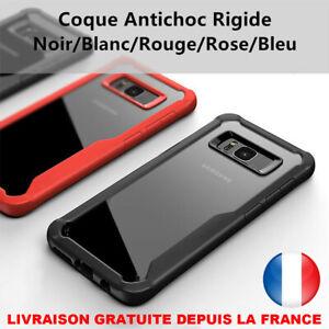 Antichoc Housse Slim Pour Samsung Galaxy S8 Plus S9 Note8 A8 Coque Rigide Bumper