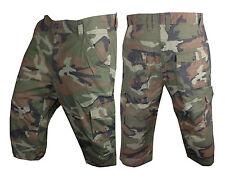 Mens Jungle Combat Pigeon Shooting Hunting 3/4 Quarter Shorts Camouflage M - 2XL