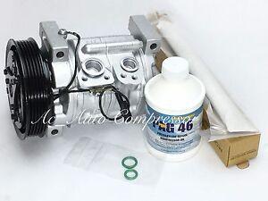 A/C Compressor Kit For Suzuki Vitara 1999-2003 4 Cyl 2.0L W/One Year Warranty.