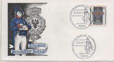 Ungeprüfte Briefmarken aus Berlin (1948-1990) mit Ersttagsbrief