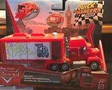 DISNEY CARS MODELLINI: MACK TRANSPORTER QUICK CHANGERS RACE
