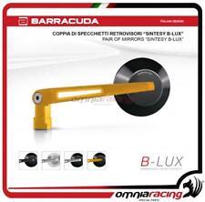 Barracuda 2 Specchietti retrovisori SINTESY B-LUX moto Naked colore Oro/Nero