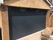 roller Garage Door DIY Insulated Uk Made Ce Marked Fixings Included Auto Opening