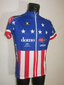 Maillot cycliste ancien domo ' fred rodriguez champion us' 2001