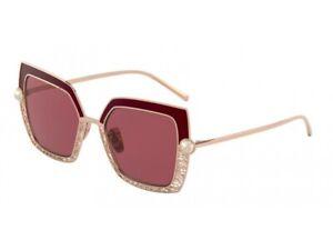 Dolce & Gabbana Sunglasses DG2251H  133369 PINK GOLD/BORDEAUX  violet Woman