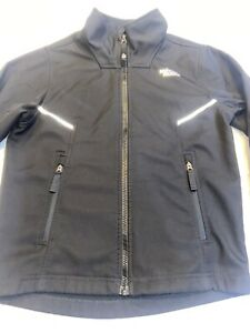 The North Face Jacket/Windwall Boys Sz.S(7/8)-Poly-Black-Zip-Reflective