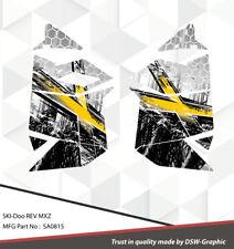 SKI-DOO XP MXZ SNOWMOBILE SLED WRAP GRAPHICS STICKER DECAL KIT 2008-2013 SA0815