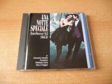 CD Una Notte Speciale San Remo `92: Riccardo Fogli Nino D`angelo Mia Martini ...