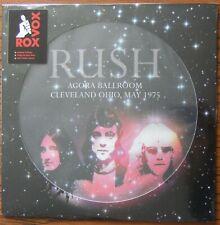 RUSH Agora Ballroom Cleveland Ohio 1975 LP Picture Disc (2016) Limited Edition
