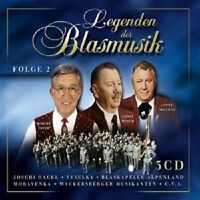 LEGENDEN DER BLASMUSIK VOL. II 3 CD BOX NEUWARE