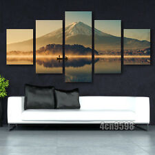 Modern paintings 5 pcs Print On Canvas Home Decor Mount Fuji 5pc(no frame)#086