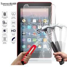 "Tablet Tempered Glass Screen Protector Cover Amazon Fire 7"" Alexa 7th Gen - 2017"